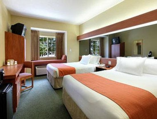 Microtel Inn & Suites by Wyndham Zephyrhills: Standard Two Queen Bed Room