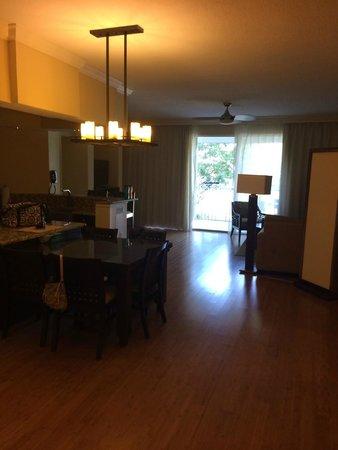 Bluegreen Fountains Resort : Living area