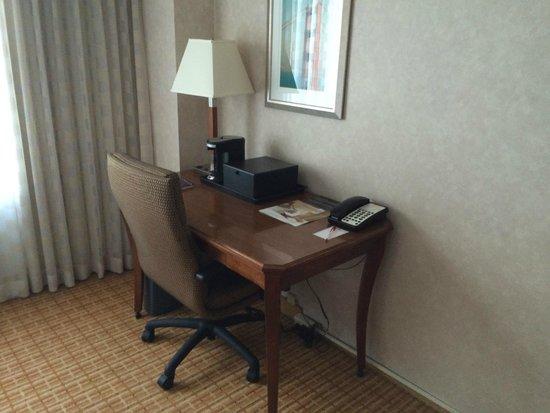 San Francisco Airport Marriott Waterfront: Work desk