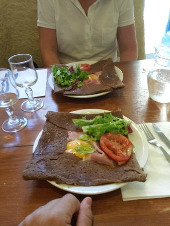 Creperie des arts: Crepes salate