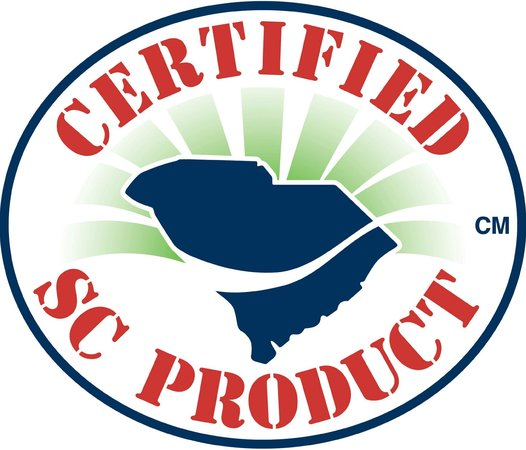 Charleston City Market: They are a Certified SC Product! So cool!