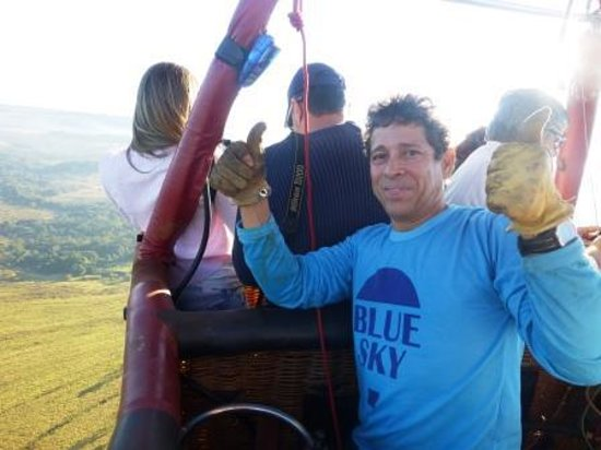 Terezopolis de Goias: passeio de balao saindo da Santa Branca Ecoturismo