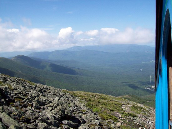 The Mount Washington Cog Railway: The Views!!