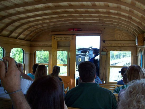 The Mount Washington Cog Railway: The Ride!