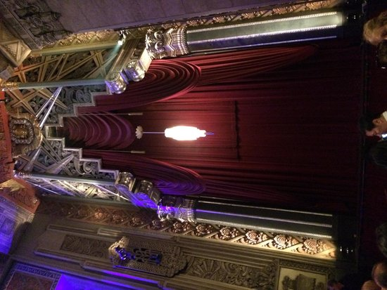 Pantages Theatre: Part of the orchestra right decor