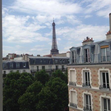 Hotel Relais Bosquet Paris: View from room 64