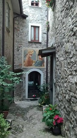 Holidays in Gittana: The house that we stayed in