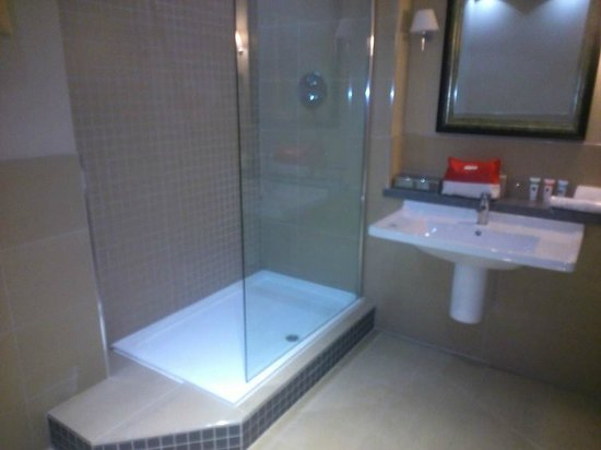Crabwall Manor Hotel & Spa: Shower