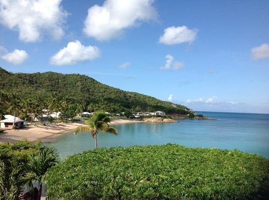 Hawksbill by Rex Resorts: View from Tamarinds bar