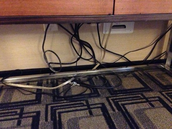 Sheraton New York Times Square Hotel : MESSY CABLES