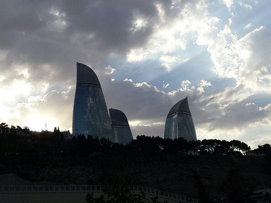Baku, Azerbaijan: Trump
