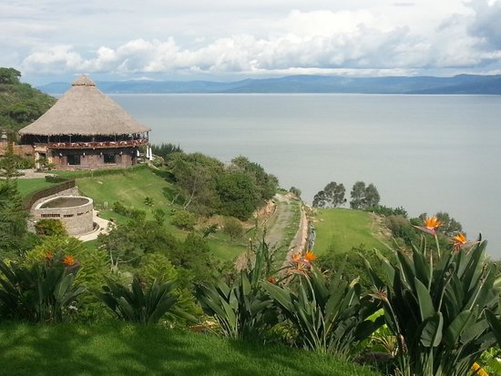 Monte Coxala Spa: View Across Lake Chapala from the Spa