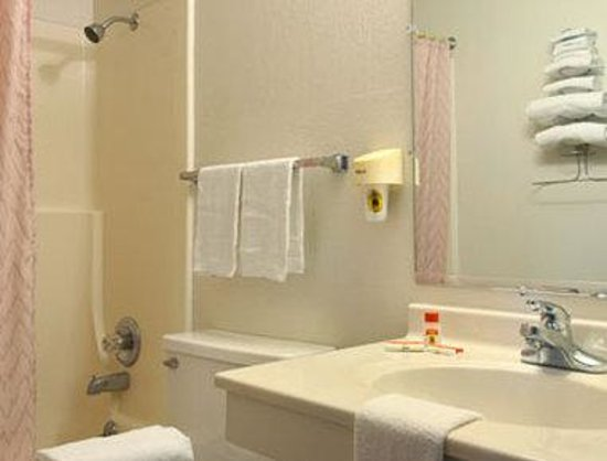 Super 8 Norfolk: Bathroom