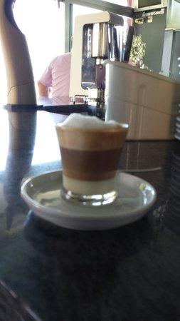La Muralla: Un café despues de una buena comida