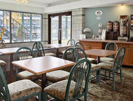 Knights Inn South Lake Tahoe : Breakfast Area