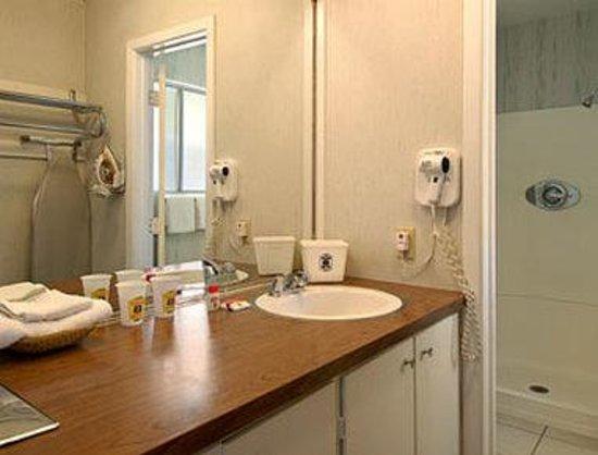 Knights Inn South Lake Tahoe : Bathroom