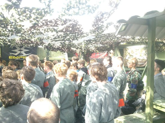 Outpost Paintball: Wrexham Scouts