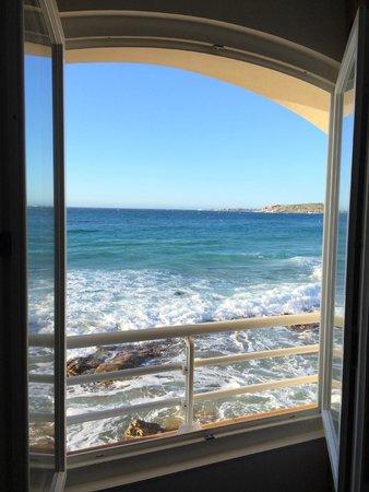 Hotel Beau Rivage : Vue de la chambre