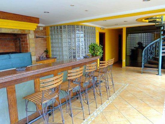 Hotel Las Margaritas: Bar na cobertura