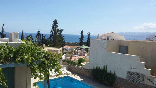 Villa Iokasti: Hotel Iokasti - beautiful view from balcony