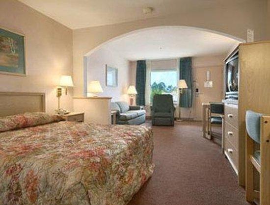 Super 8 Jasper TX : Standard Queen Bed Room