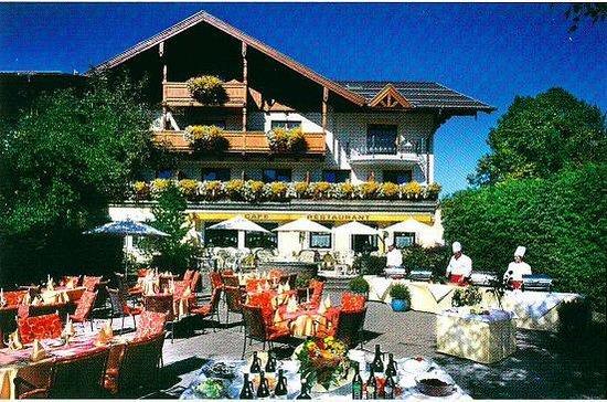 Hotel Lerch : Terrasse