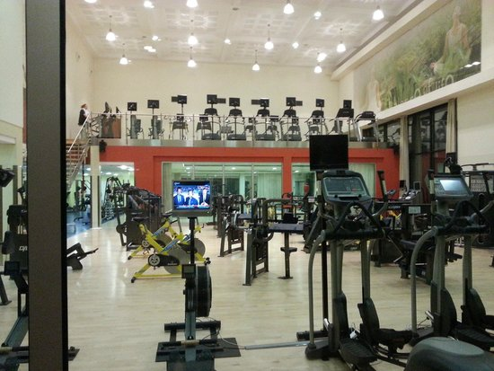 Hilton Prague : The gym