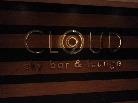 Hilton Prague: The sky bar