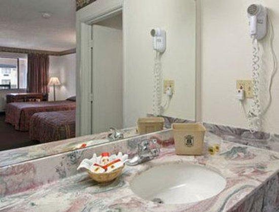 Super 8 Arlington East: Bathroom