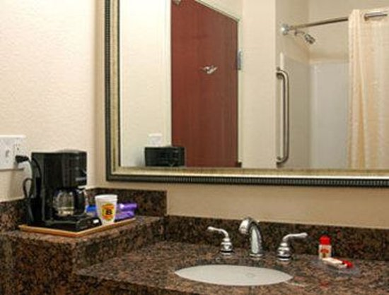 Super 8 Austin/Airport South : Bathroom