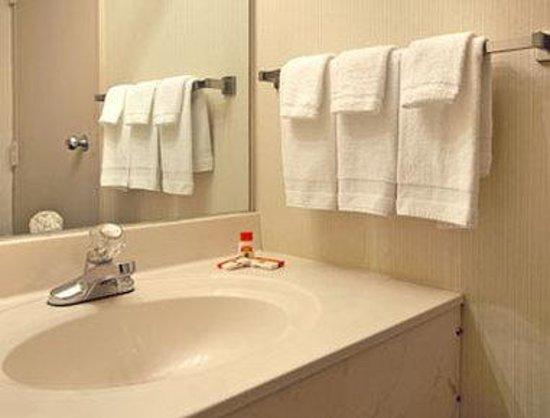 Super 8 State College: Bathroom