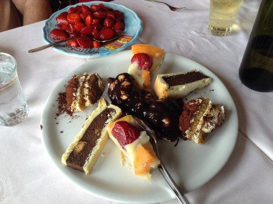 La Tagliata: Desserts!!!!