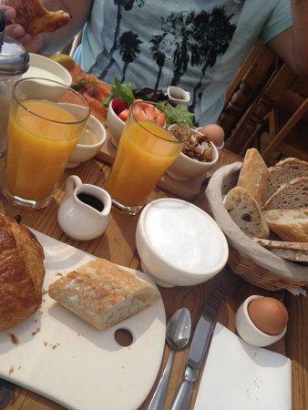 Pain et Cie: Petit déjeuner et brunch