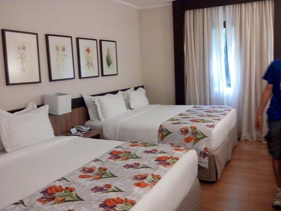 Mabu Thermas Grand Resort: Camas_Quarto