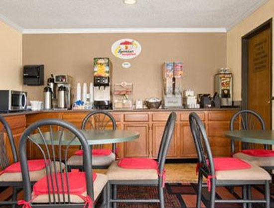 Super 8 Boonville : Breakfast Area