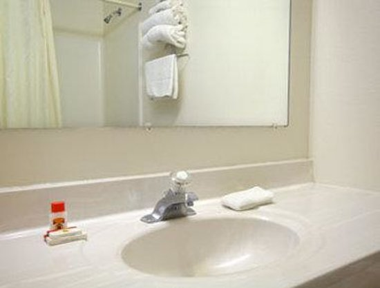 Super 8 Woodstock: Bathroom