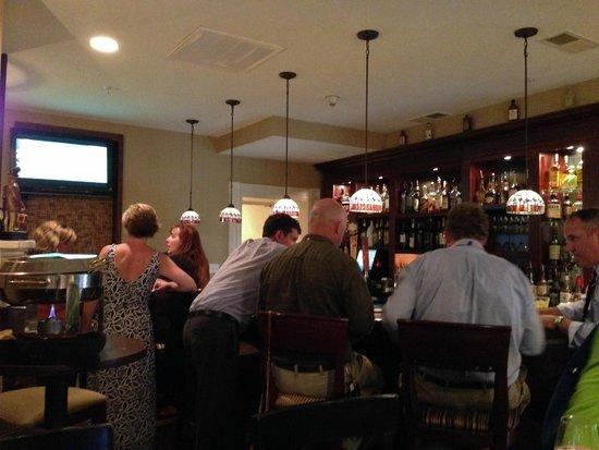 The Brick Restaurant & Tavern: Busy bar with locals