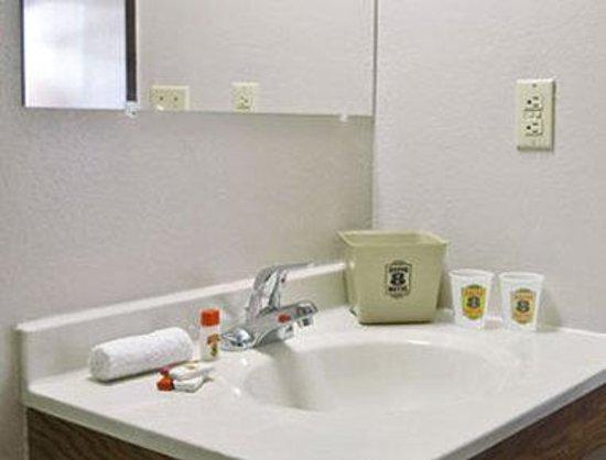 Super 8 Albany: Bathroom
