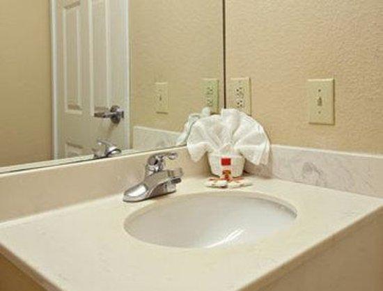 Super 8 Indianapolis/NE/Castleton Area: Bathroom