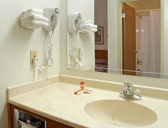 Super 8 Blaine/Mpls/St. Paul Area: Bathroom