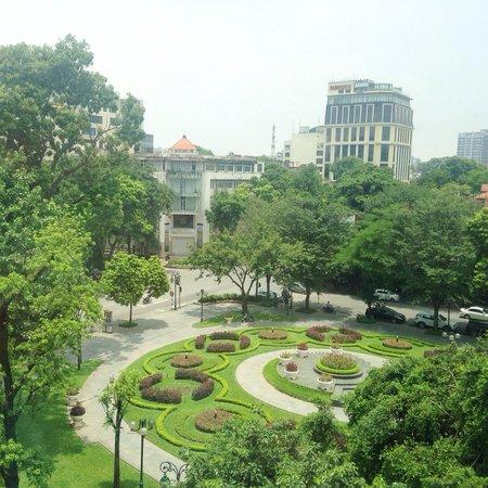 Hilton Hanoi Opera: View from room