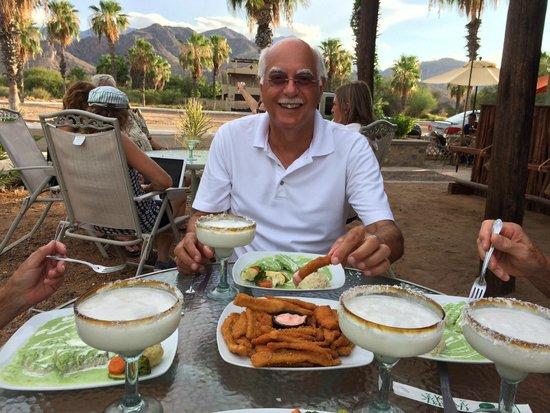 Agave Restaurant Bar: Enjoying dinner