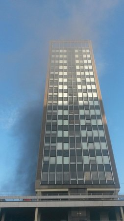 Hampton by Hilton Birmingham Broad Street: The day the joining takeaway went on fire