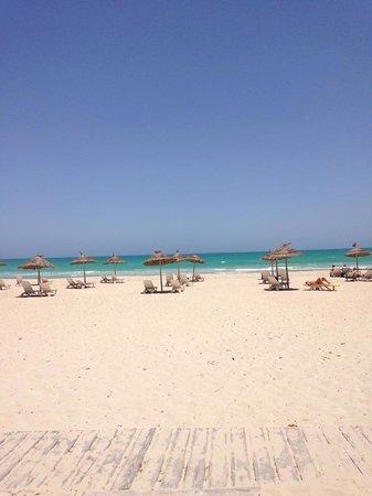 Hotel Djerba Haroun : The private beach of hotel haroun