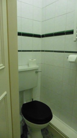 The Hazelwood: toilet area