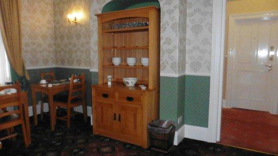 The Hazelwood: breakfast dining area
