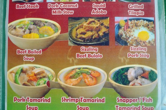 Big Mama's Pinoy Hot Pot & Grill: Best seller dishes