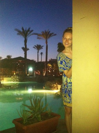 Ghazala Gardens Hotel : socialising area
