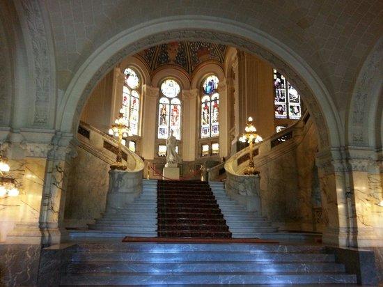 Palais de la Paix : Hall d'entrée