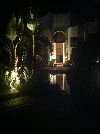 Ghazala Gardens Hotel: One of the entrances to the rooms